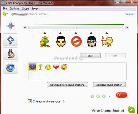 Skype Voice Changer