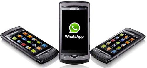 Ватсап на телефоне Самсунг