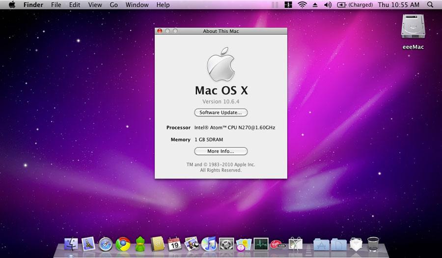 Компьютер Mac OS