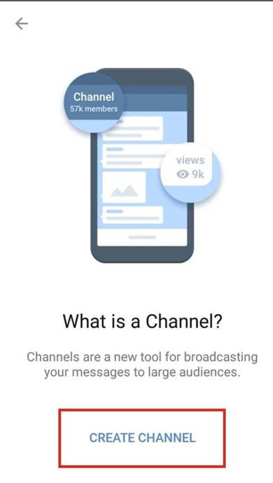 создание канала