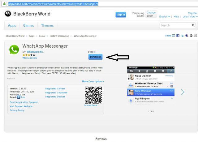 BlackBerry World.