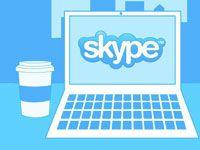Скайп на ноутбуке
