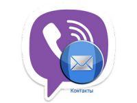 контакты в Viber