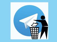 удаление аккаунта в телеграме