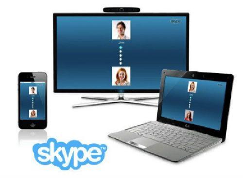 Скайп на различных устройствах