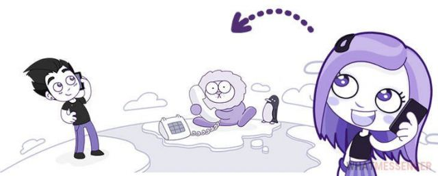 связь в  Viber