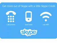 ваучеры для Skype